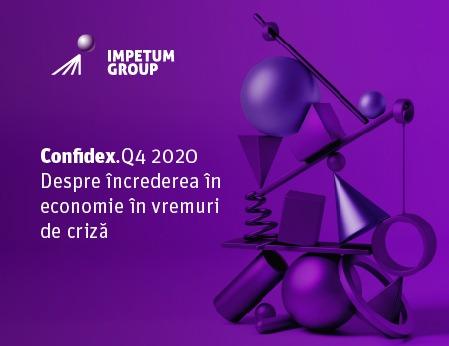 Studiul CONFIDEX Q4 2020: încrederea managerilor în economia românească a crescut în Q4 2020