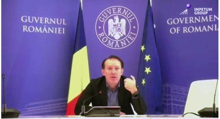 Cum va arăta noul ciclu economic - Premierul Florin Cîțu